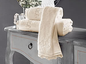Купить полотенце SoftCotton Luna 85х150 см, экрю