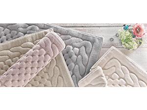 Купить коврик Gelin Home Erguvan 70х120 см, тёмно-коричневый