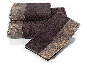 Купить полотенце SoftCotton Lalezar 32х50 см, фиолетовый