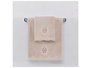 Купить полотенце SoftCotton Destan 85х150 см, пудра