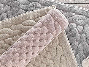 Купить коврик Gelin Home Erguvan 80х200 см, тёмно-розовый