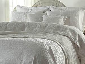 Постельное белье Gelin Home с покрывалом, Elmas кремовый