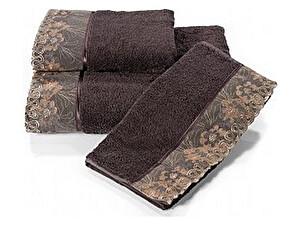 Купить полотенце SoftCotton Lalezar 50х100 см, фиолетовый