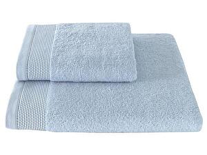 Купить полотенце SoftCotton Bambu 50х100 см, светло-голубой