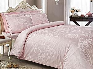 Жаккардовое постельное белье Tivolio Arredo, розовое