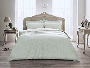 Купить постельное белье Tivolyo Delux Punto, зеленый
