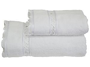 Купить полотенце SoftCotton Diva Dantelli 50х100 см, белый