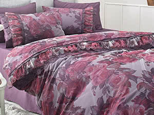 Купить комплект Gelin Home Ebru фиолетовый