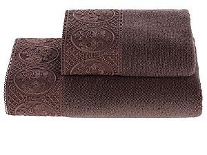 Купить полотенце SoftCotton Eliza 85х150 см, фиолетовый