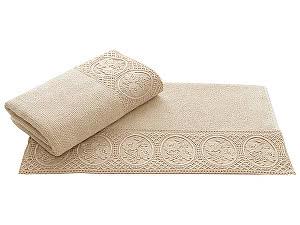 Купить полотенце SoftCotton Eliza 85х150 см, бежевый