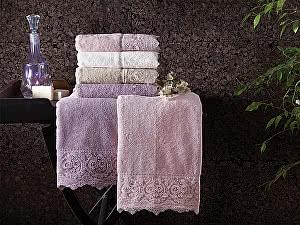 Купить полотенце Tivolyo Elegant, кремовый