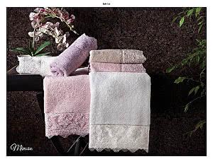 Купить полотенце Tivolyo Minosa, пудра