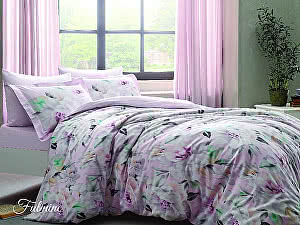 Постельное белье Tivolyo Delux Fulmine, розовый