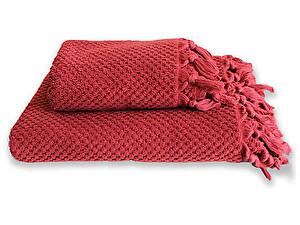 Купить полотенце Buldan Cakil 50х90 см, бордовое