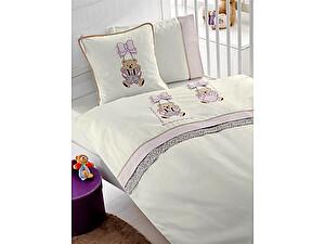 Купить постельное белье Gelin Home Bebe с покрывалом, лиловый