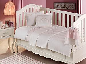 Купить комплект Tivolyo Family Bebe с покрывалом, розовый