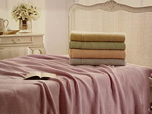 Купить плед Tivolyo Sera, розовый