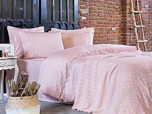 Купить комплект Tivolyo Alianz с пледом, розовый
