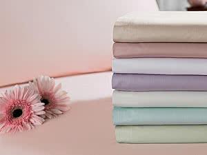 Купить комплект Tivolyo Простыня 3295-3, 260х300 см, розовая