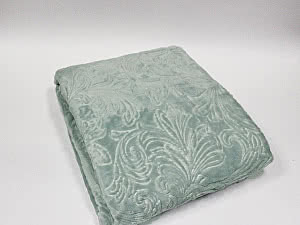 Купить плед Tivolyo Soft Jakarli, зеленый 160х200