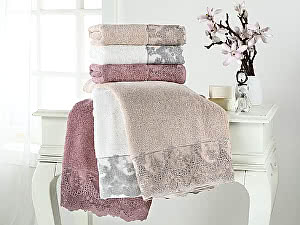 Купить полотенце Tivolyo Regina, бежевый