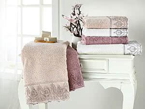 Купить полотенце Tivolyo Lina, серый