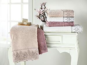 Купить полотенце Tivolyo Lina, фиолетовый