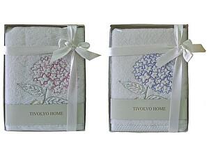 Купить полотенце Tivolyo Ortanca 50х100 см, розовое