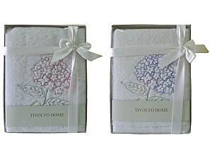 Купить полотенце Tivolyo Ortanca 50х100 см, лиловое