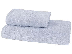 Купить полотенце SoftCotton Aria 75х150 см, светло-голубой