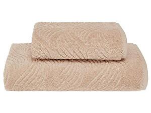 Купить полотенце SoftCotton Wave 75х150 см, светло-бежевый