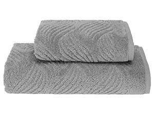 Купить полотенце SoftCotton Wave 75х150 см, серый