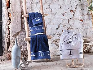 Купить полотенце Tivolyo Ancora 50х100 см, синее