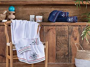 Купить полотенце Tivolyo Nakisli, темно-синий