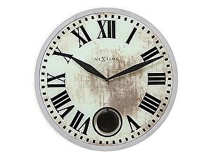 Часы настенные Урбаника Romana с маятником, бежевые