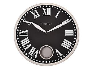Часы настенные Урбаника Romana с маятником, черные