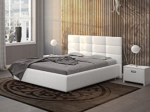 Купить кровать Орма - Мебель Como 8 (экокожа цвета люкс)
