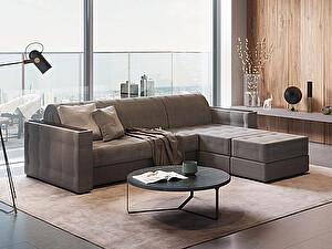 Купить кровать Орма - Мебель Ergonomic dream (с пуфом) угловой