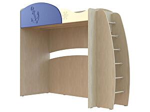 Купить кровать Компасс Капитошка ДК-12 с лестницей