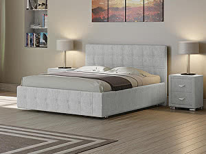 Купить кровать Орма - Мебель Life 3 (ткань бентлей)