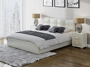 Купить кровать Орма - Мебель Life 1 Box (ткань бентлей) 160х200