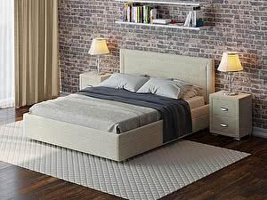 Купить кровать Орма - Мебель Life 2 Box с боковым ПМ (ткань бентлей)