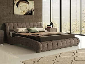 Купить кровать Орма - Мебель Nuvola 1 (ткань бентлей)