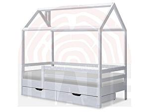Купить кровать ВМК-Шале Ненси домик 80х160
