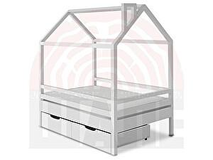 Купить кровать ВМК-Шале Пеппи домик 80х160