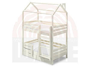 Купить кровать ВМК-Шале Твинкл домик 80х160