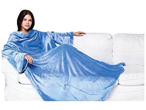 Купить плед Sleepy Original с рукавами, небесно-голубой