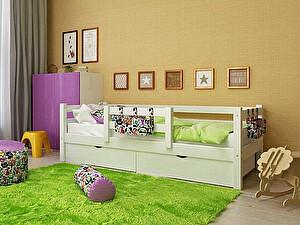 Купить кровать Орма - Мебель Отто-4 с защитой по центру