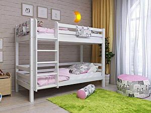Купить кровать Орма - Мебель Отто-9 двухъярусная с прямой лестницей