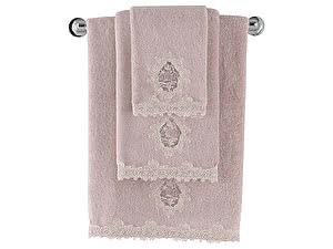 Купить полотенце SoftCotton Destan 50х100 см, тёмно-розовый